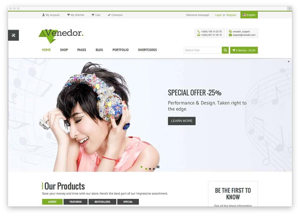 WooCommerce темы WordPress для электронной коммерции