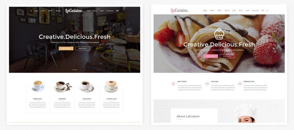 лучшие WordPress шаблоны для клуба-бара-ресторана 2017 02