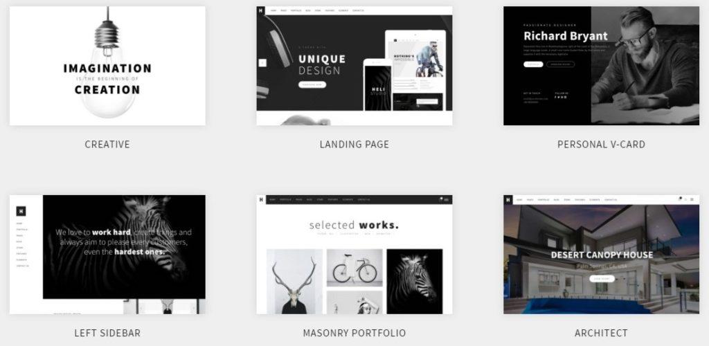 универсальные WordPress темы для сайта 01