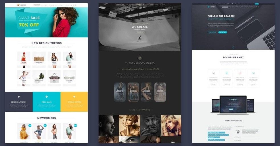 универсальные WordPress темы для сайта 03