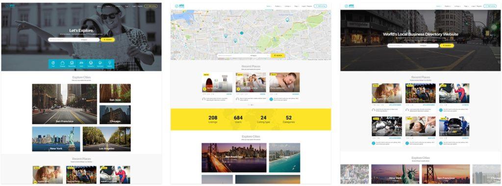 русские шаблоны WordPress для недвижимости для сайтов с каталогом и онлайн-оплатой 04