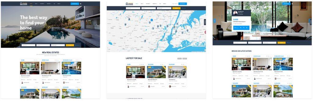 русские шаблоны WordPress для недвижимости для сайтов с каталогом и онлайн-оплатой 10