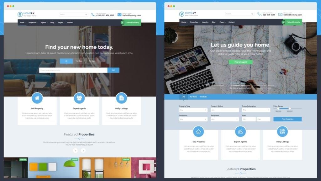 русские шаблоны WordPress для недвижимости для сайтов с каталогом и онлайн-оплатой 11