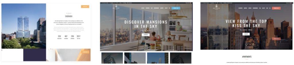 русские шаблоны WordPress для недвижимости для сайтов с каталогом и онлайн-оплатой 13