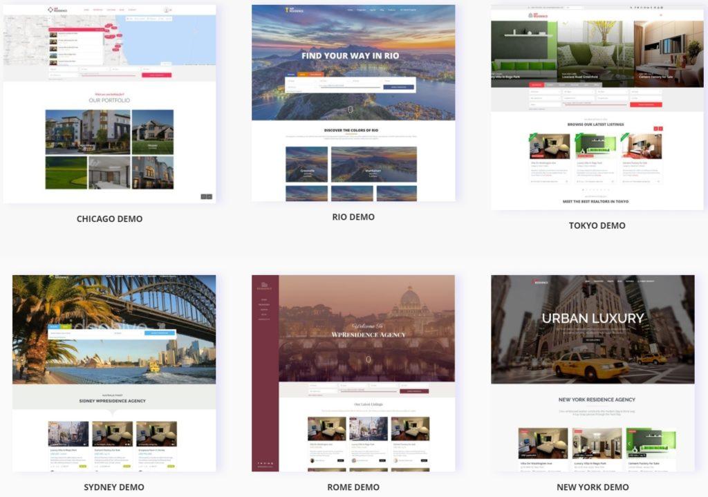русские шаблоны WordPress для недвижимости для сайтов с каталогом и онлайн-оплатой 21