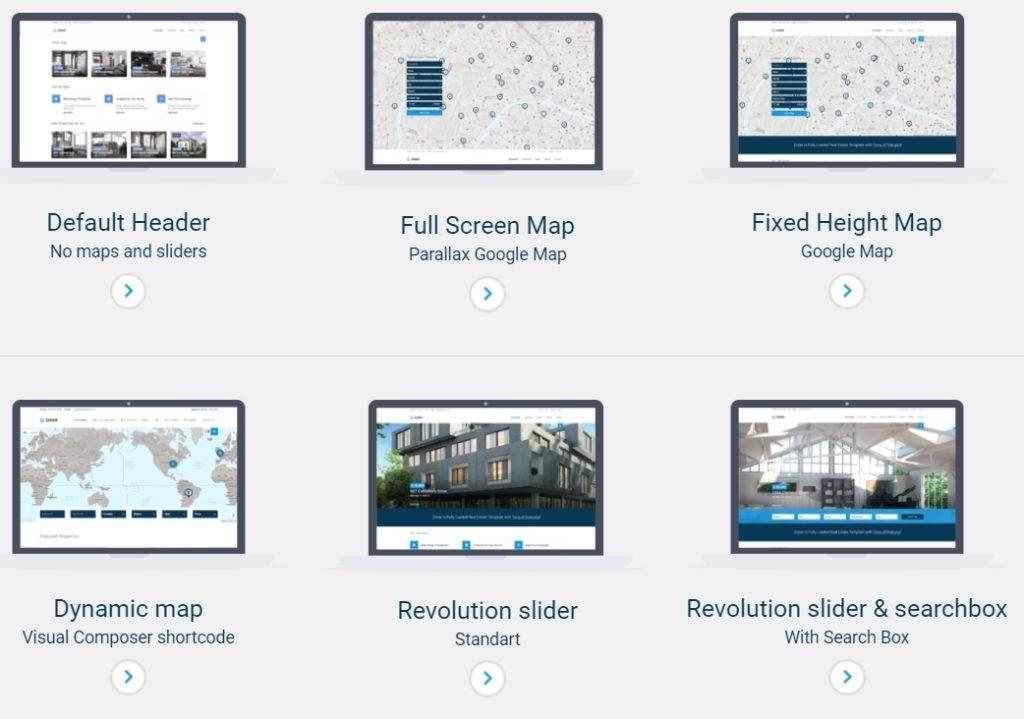 русские шаблоны WordPress для недвижимости для сайтов с каталогом и онлайн-оплатой 22