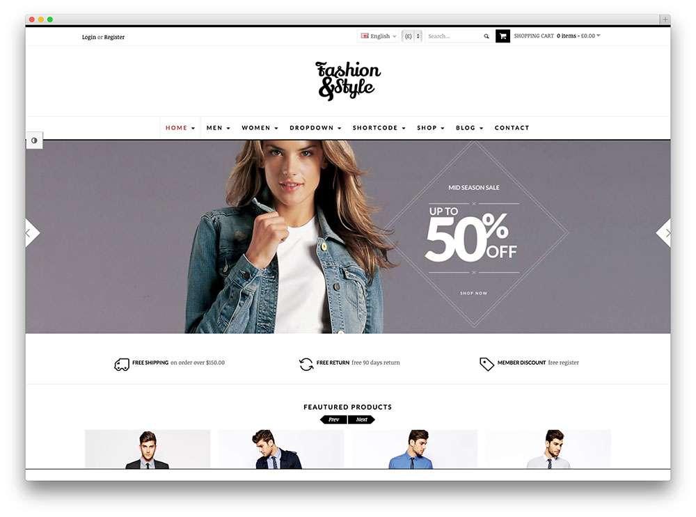 Темы WooCommerce для электронной коммерции
