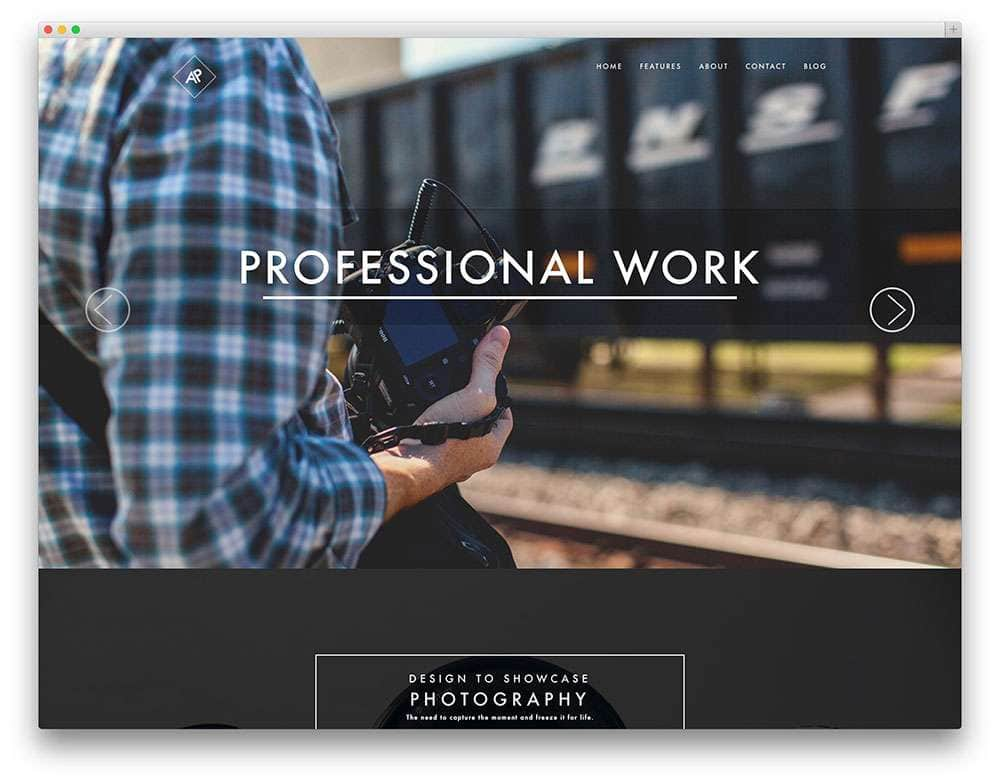 Лучшие темы для личного и бизнес портфолио на WordPress 2016