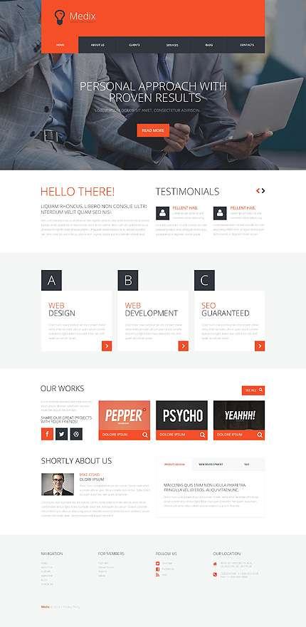 Сайты на WordPress для открытия бизнеса 2016