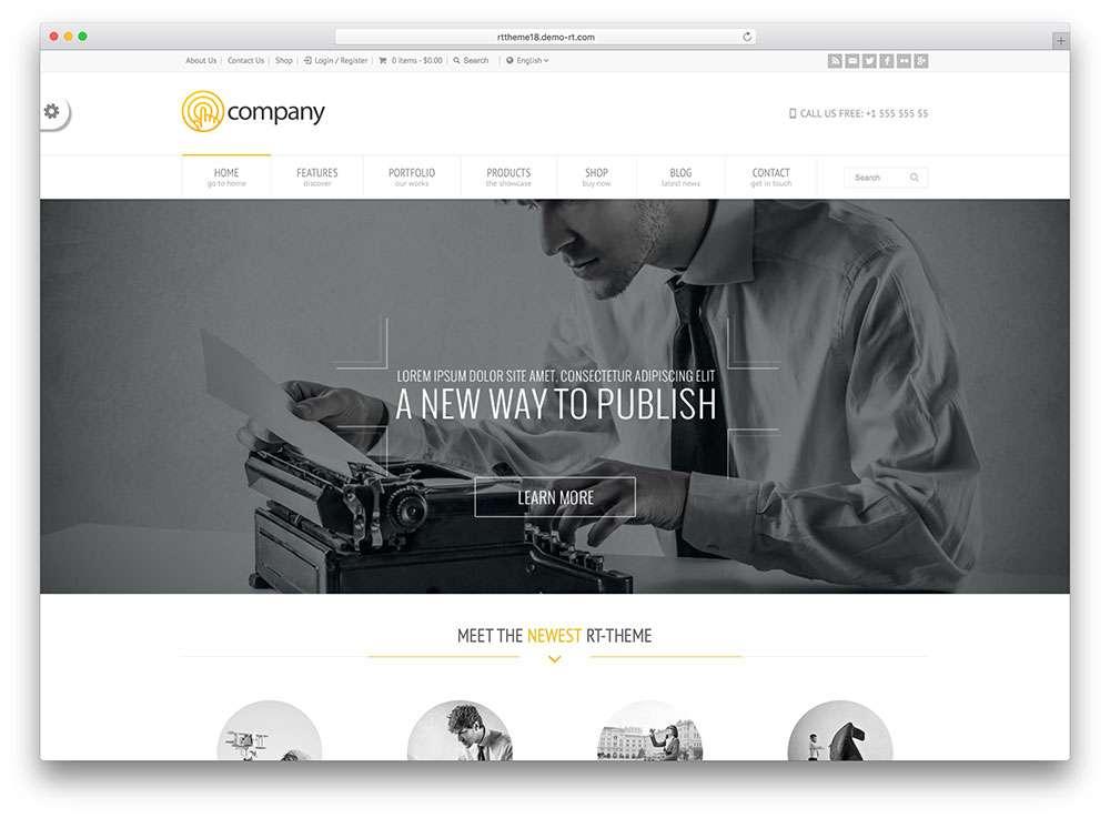 Авто шаблоны WordPress для арендного бизнеса