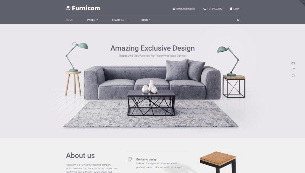 Как открыть мебельный интернет-магазин на WordPress 01