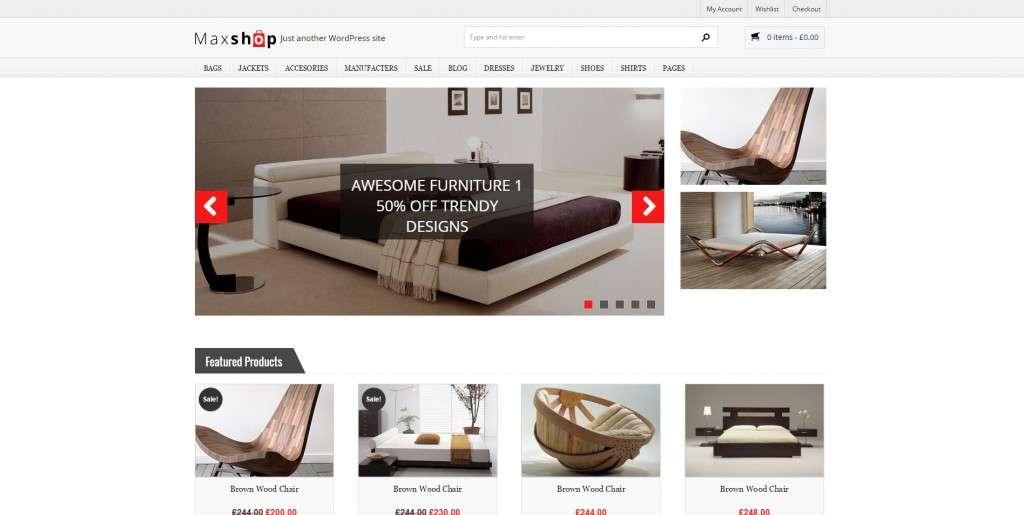 Открой мебельный Интернет-магазин на WordPress 2016