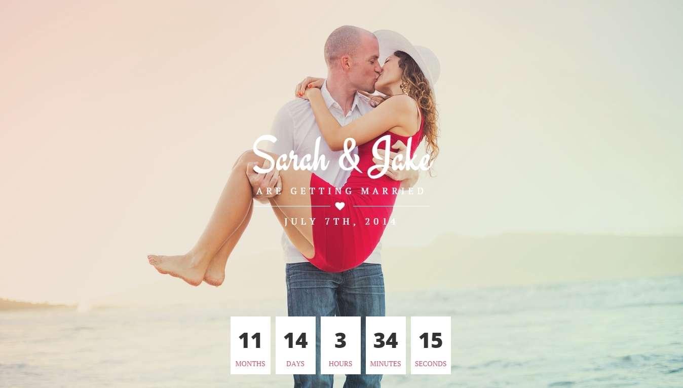Красивый свадебный сайт