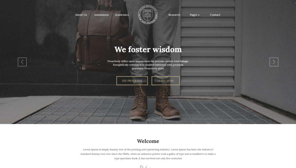 Как создать образовательный сайт на WordPress с расписанием 02