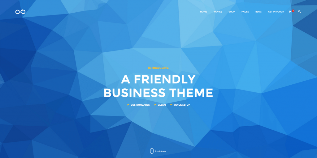 лучшие темы WordPress материальный дизайн