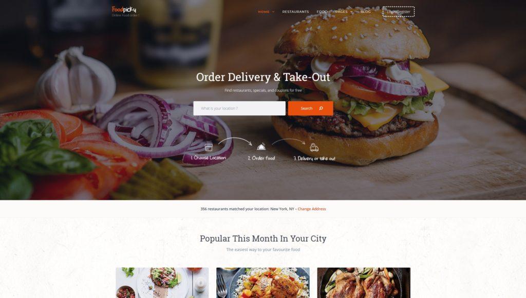лучшие WordPress шаблоны для ресторана, кафе и бара с меню и доставкой 05