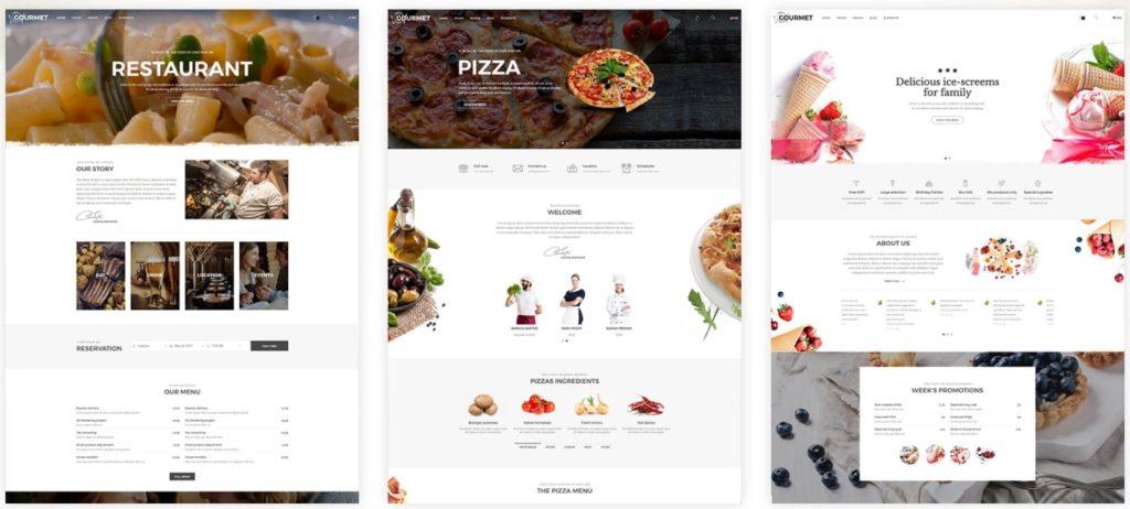 лучшие WordPress шаблоны для ресторана, кафе и бара с меню и доставкой 07