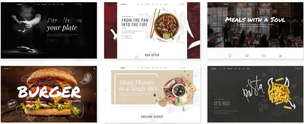 лучшие WordPress шаблоны для ресторана, кафе и бара с меню и доставкой 10