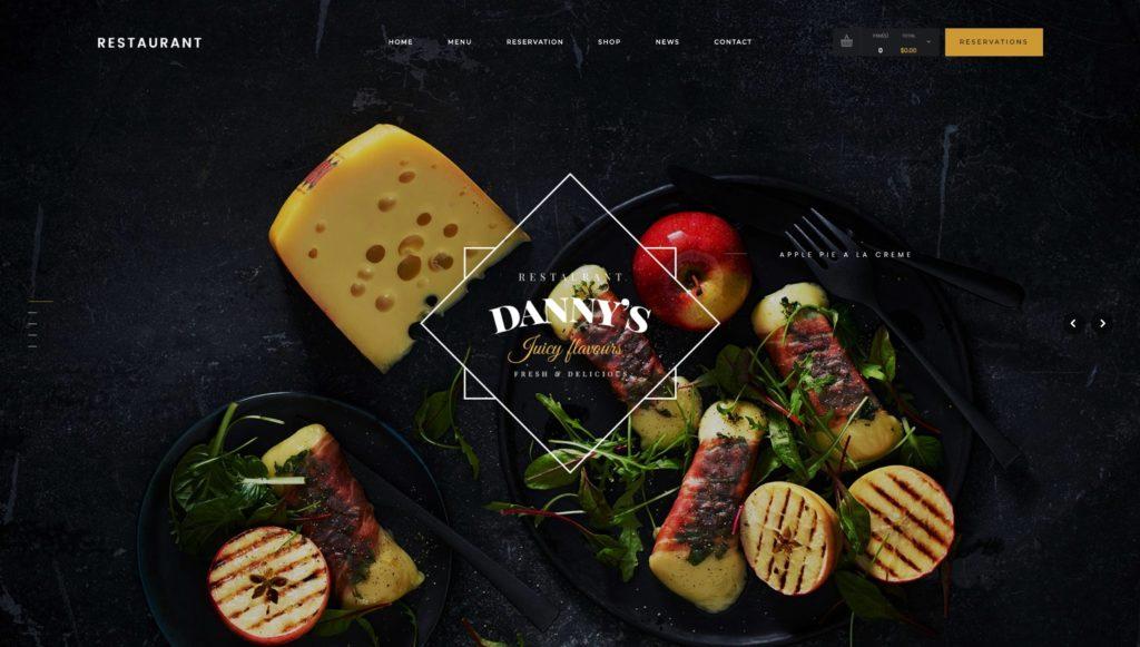 лучшие WordPress шаблоны для ресторана, кафе и бара с меню и доставкой 14
