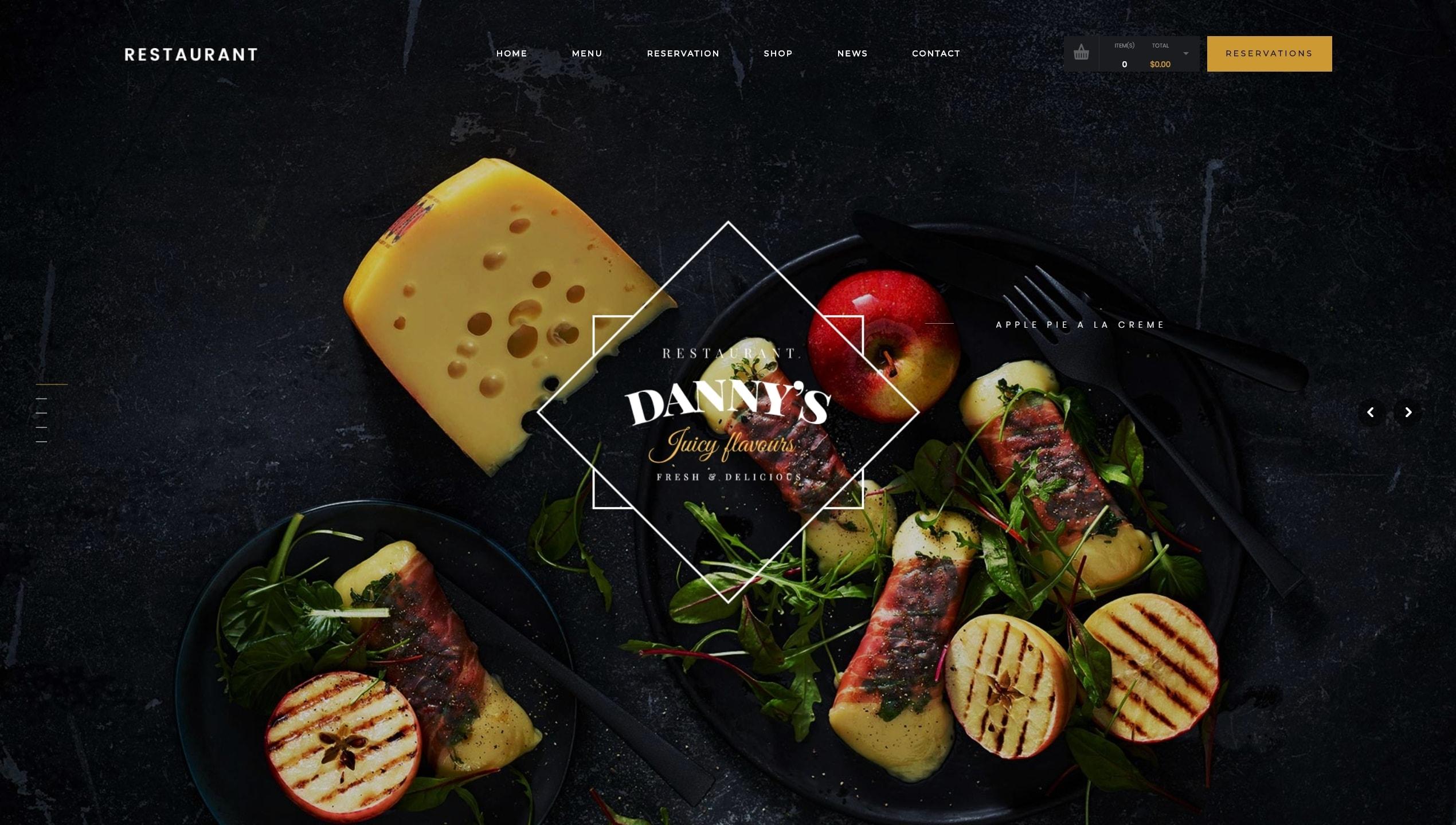 Лучшие WordPress шаблоны для ресторана, кафе и бара с меню и доставкой