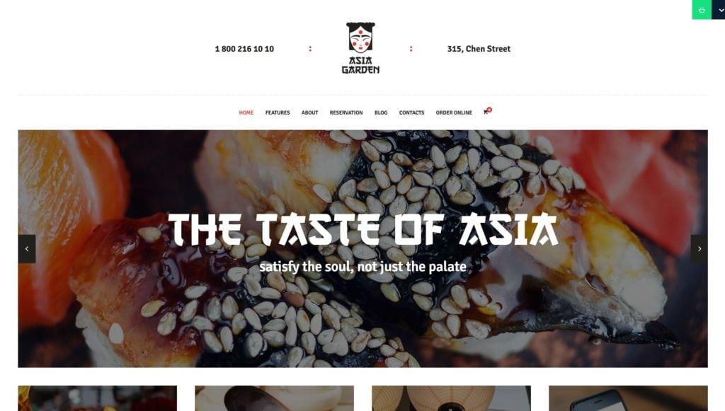 лучшие WordPress шаблоны для ресторана, кафе и бара с меню и доставкой 15