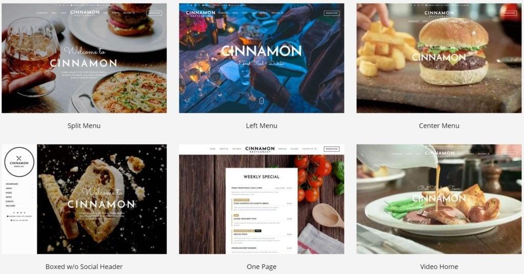 лучшие WordPress шаблоны для ресторана, кафе и бара с меню и доставкой 17