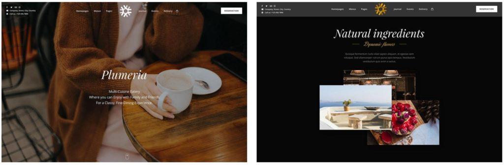 лучшие WordPress шаблоны для ресторана, кафе и бара с меню и доставкой 18