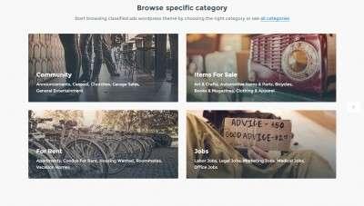 Лучший шаблон сайта объявлений на WordPress 2016