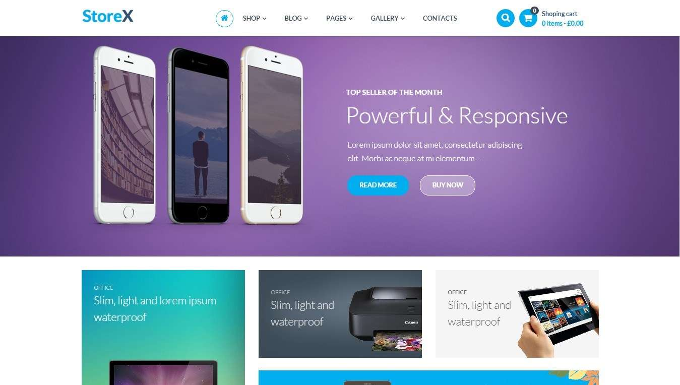 WooCommerce шаблон для продажи электронных товаров