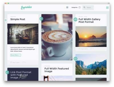 15 избранных тем WordPress на весь экран