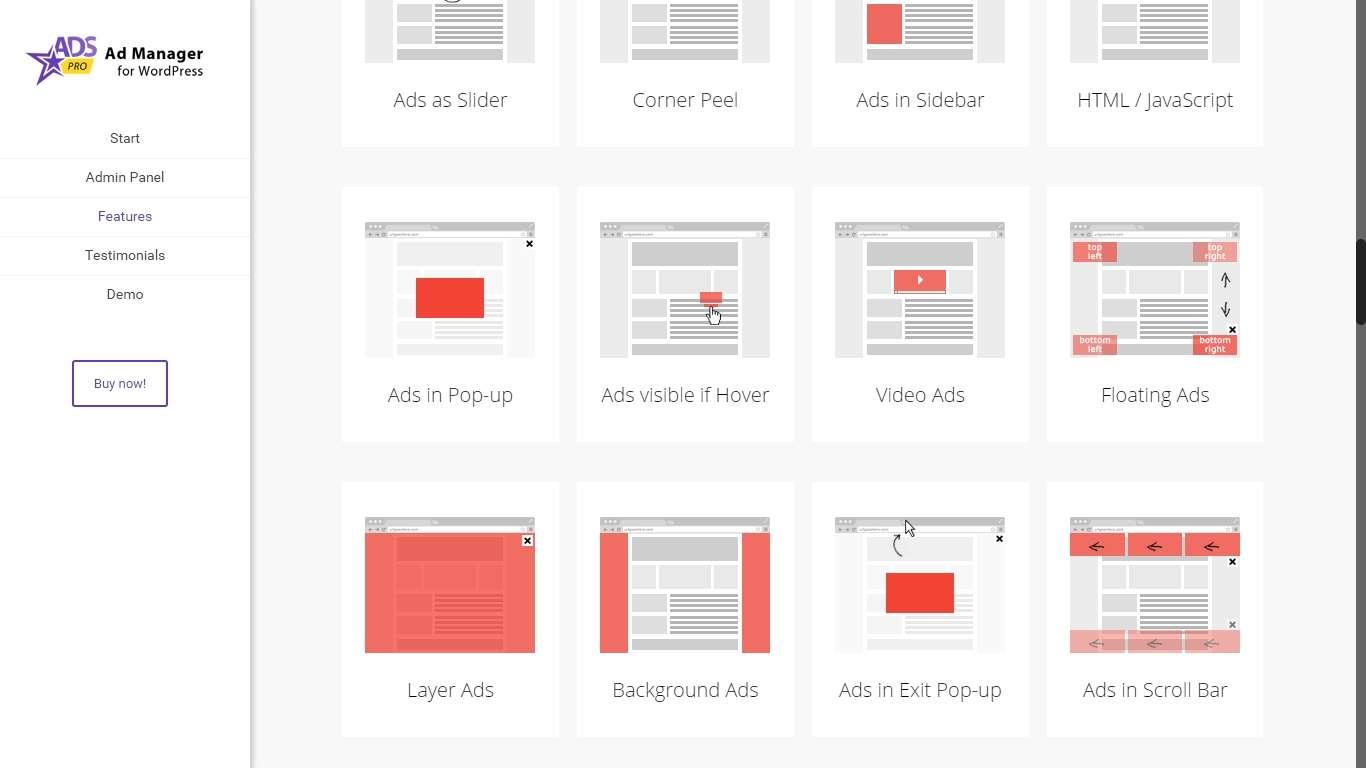 Плагины wordpress для рекламы и обьявлений