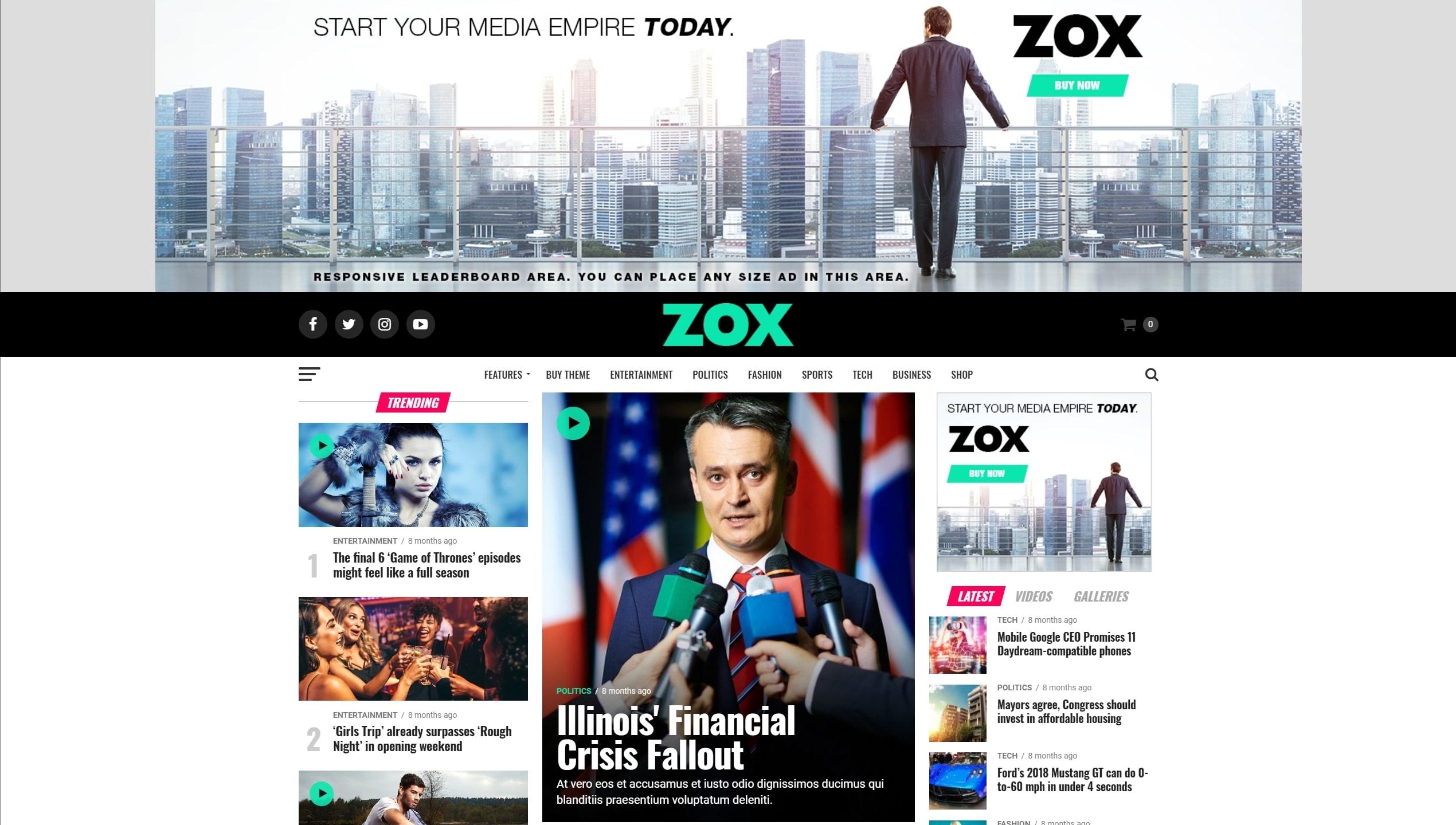 Как и где купить лучший адаптивный новостной шаблон WordPress, чтобы создать популярный новостной сайт на русском