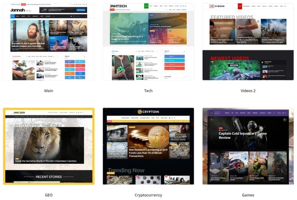 как и где купить лучший адаптивный новостной шаблон WordPress 07