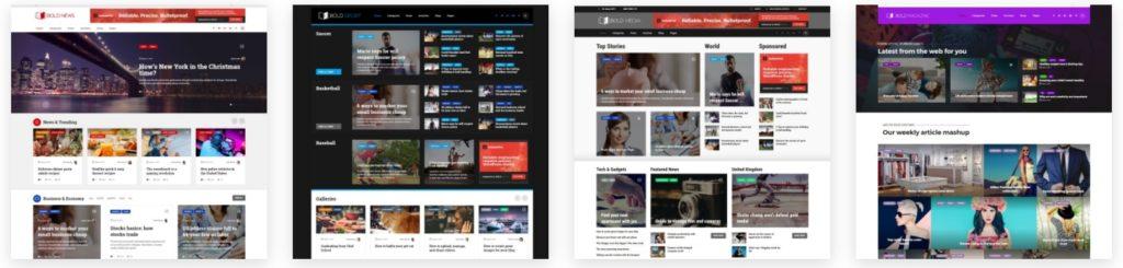 как и где купить лучший адаптивный новостной шаблон WordPress 08
