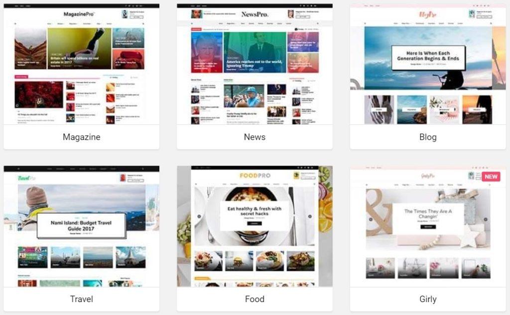 как и где купить лучший адаптивный новостной шаблон WordPress 09
