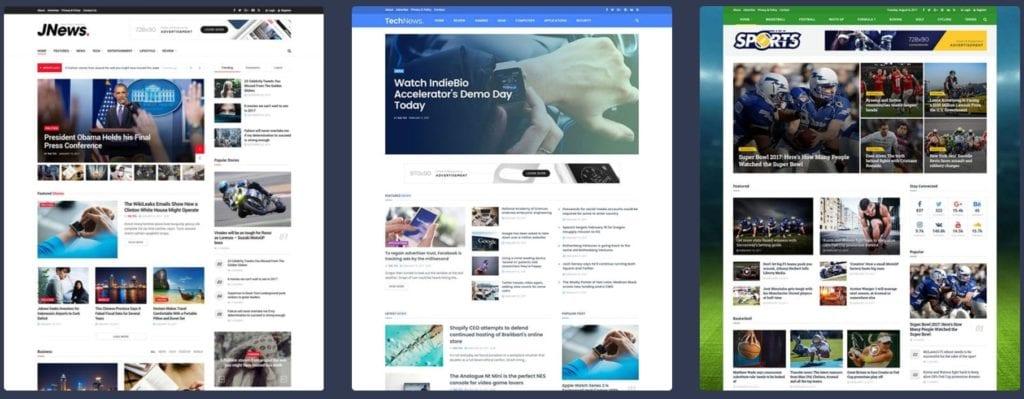 как и где купить лучший адаптивный новостной шаблон WordPress 11