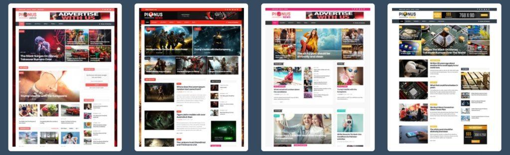 как и где купить лучший адаптивный новостной шаблон WordPress 14