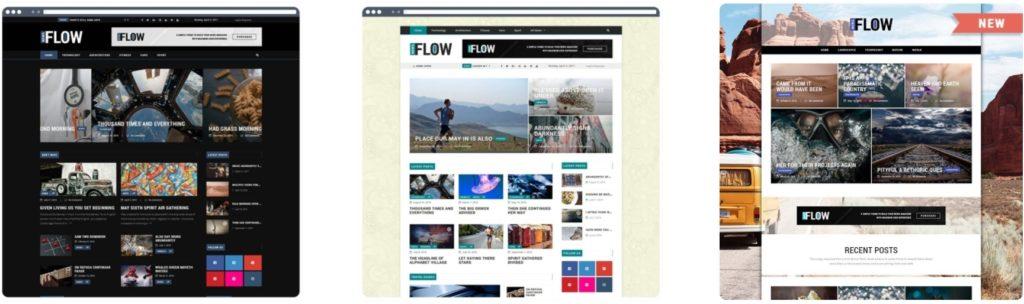 как и где купить лучший адаптивный новостной шаблон WordPress 19