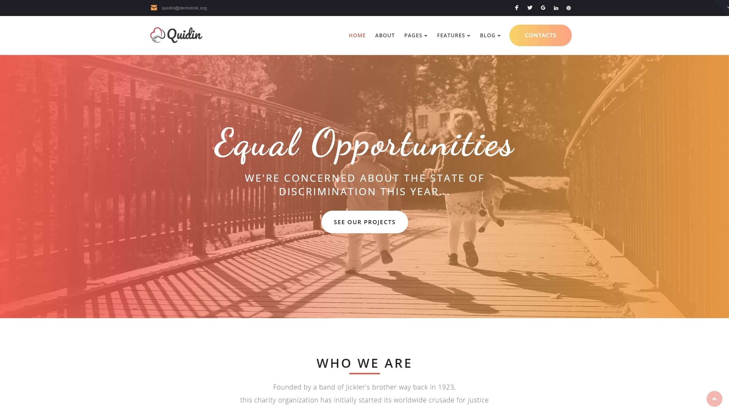 Красивые шаблоны сайтов с эксклюзивным дизайном
