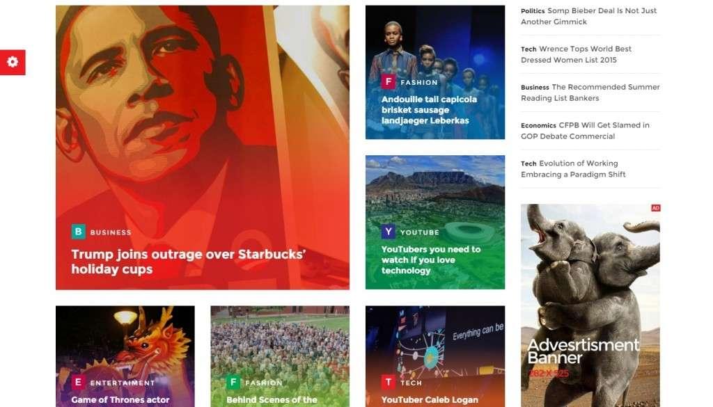 Лучший новостной шаблон WordPress 2016