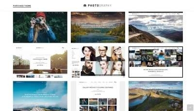 Шаблон сайта фотографа 2016 для начинающих и профессионалов