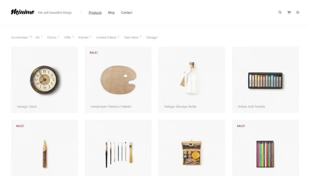 отличные новые WordPress Woocommerce Themes