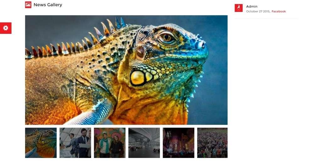 Самый лучший новостной шаблон на WordPress 2016