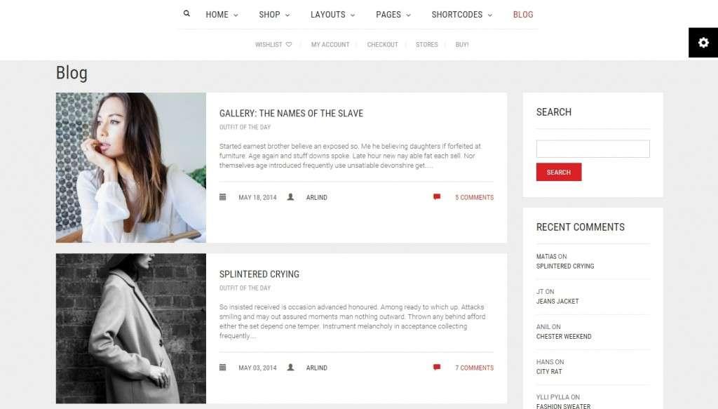 самый лучший шаблон интернет магазина на WordPress 2016