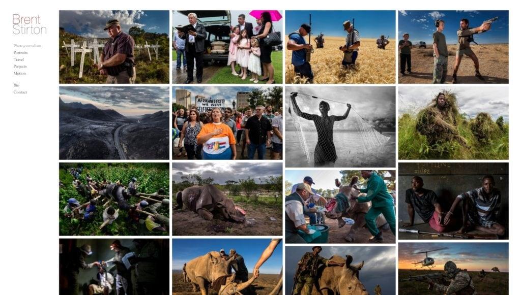 шаблон сайта фотографа с красивой галереей, портфолио и блогом для начинающих и профессионалов 06