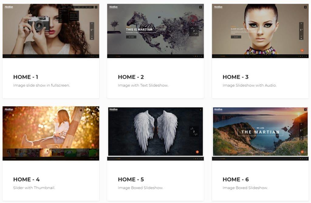 шаблон сайта фотографа с красивой галереей, портфолио и блогом для начинающих и профессионалов 13