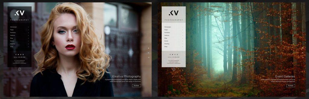 шаблон сайта фотографа с красивой галереей, портфолио и блогом для начинающих и профессионалов 14