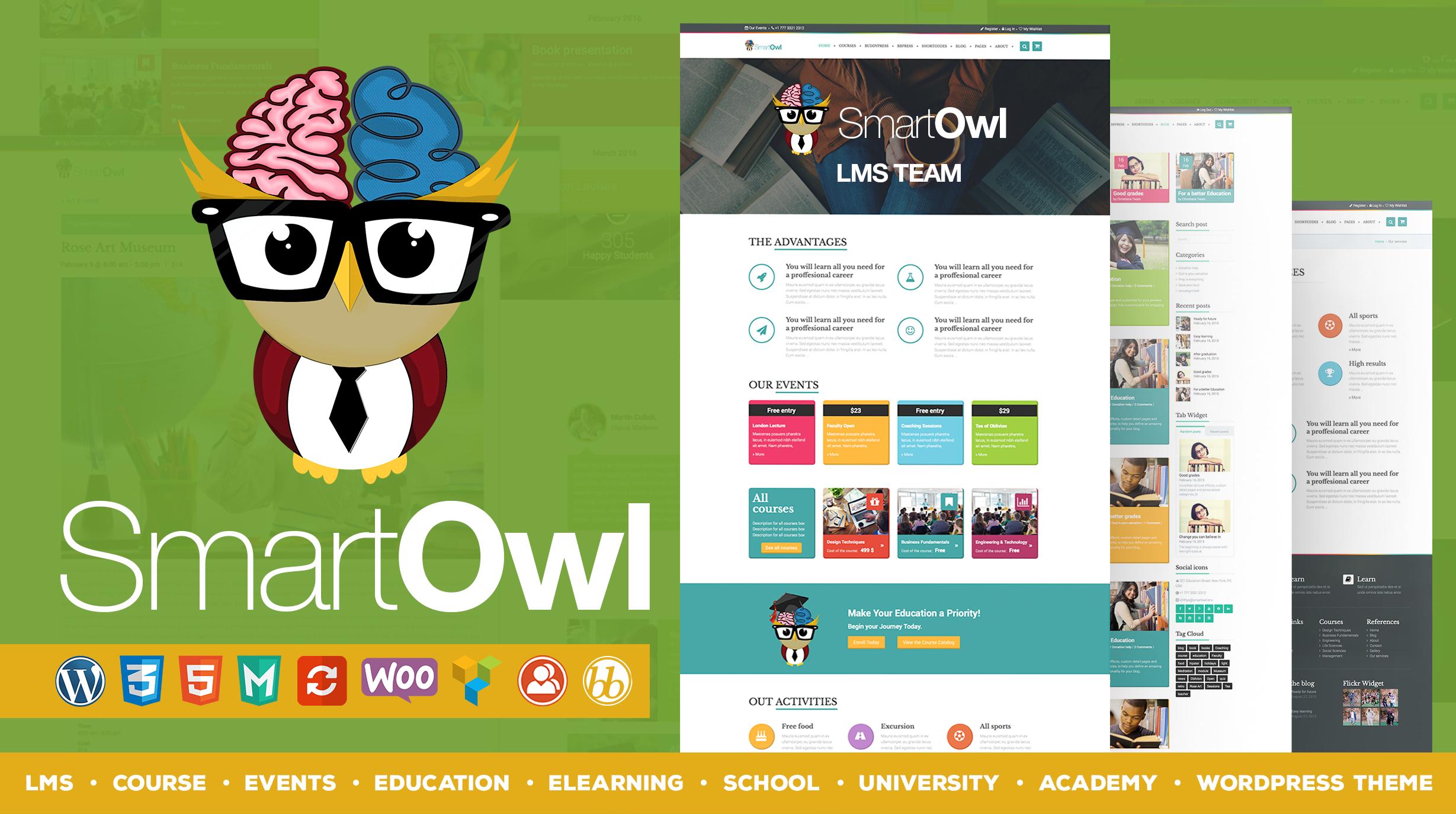 WordPress премиум качества для школ, университетов, курсов, систем онлайн-обучения и других образовательных учреждений