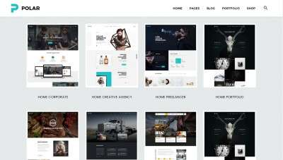Шаблоны сайтов с эксклюзивным дизайном 2016