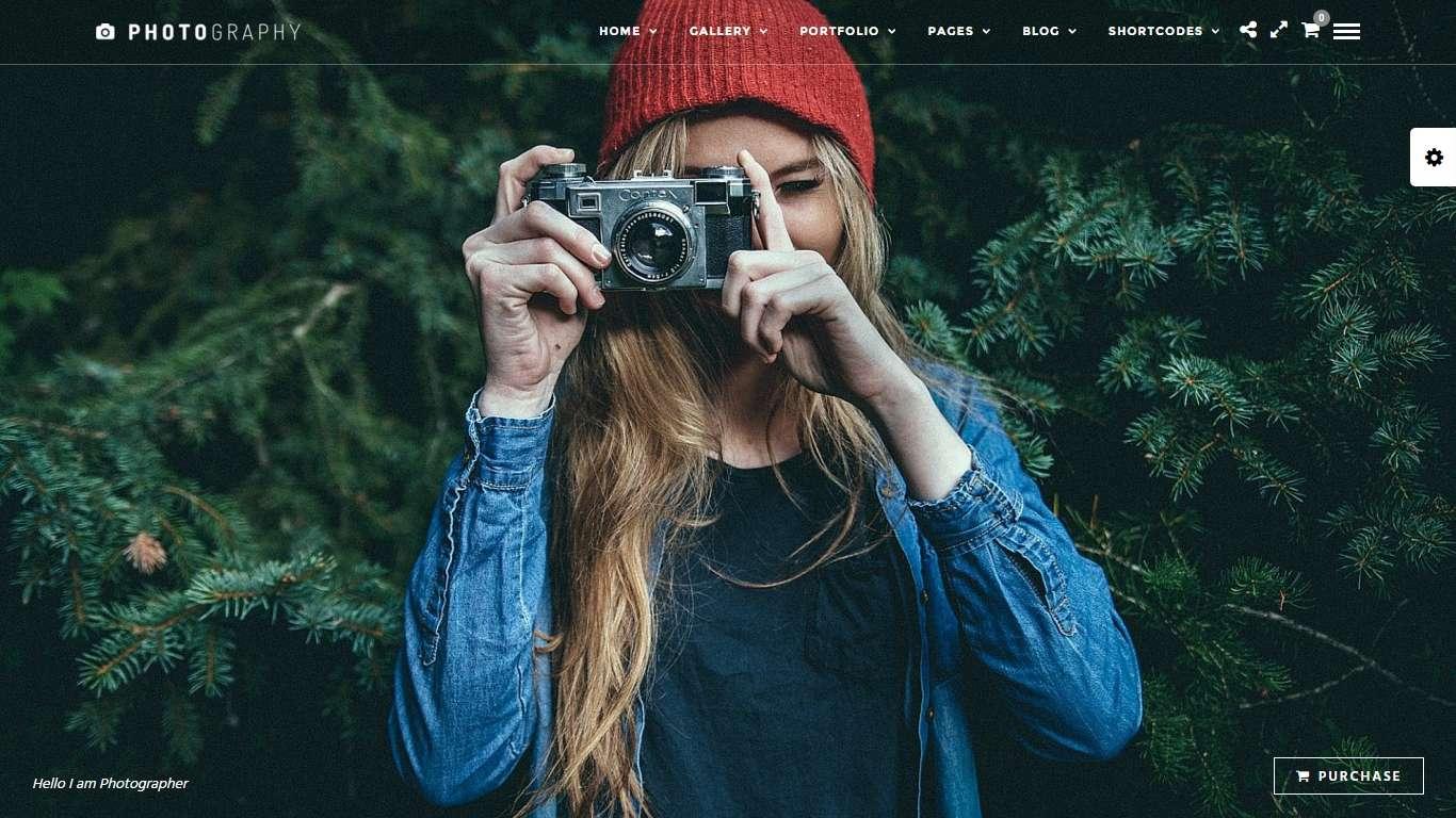 Premium photo and portfolio wordpress themes